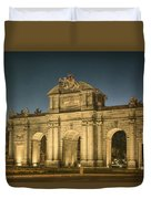 Puerta De Alcala Night Duvet Cover