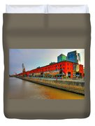 Puerto Madero - Buenos Aires Duvet Cover