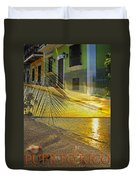 Puerto Rico Collage 3 Duvet Cover by Stephen Anderson
