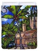 Puerto Vallarta Landscape Duvet Cover
