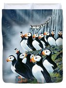 Puffin College Duvet Cover