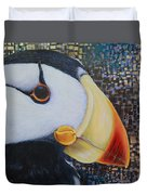 Puffin Glam Duvet Cover
