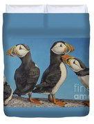 Puffin Palooza 1 Duvet Cover
