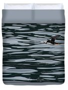 Puffin With Dinner Duvet Cover