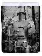 Puffing Billy II Duvet Cover