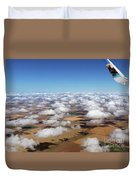 Puffy Clouds  3772 Duvet Cover