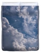 Puffy Clouds Duvet Cover