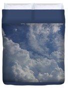 Puffy Clouds II Duvet Cover