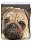 Pug Puppy  Duvet Cover