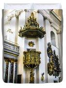 Pulpit Kalmar Cathedral Duvet Cover