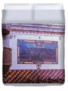 Pulpit San Xavier Mission - Tucson Arizona Duvet Cover