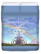 Pulsar Beacon Duvet Cover