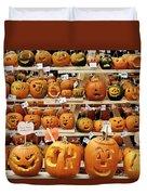 Pumpkin Festival. Duvet Cover