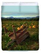 Pumpkin Patch. Duvet Cover