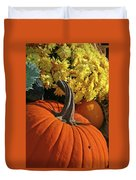 Pumpkin Still Life  Duvet Cover
