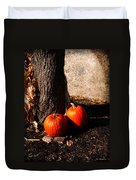 Pumpkin Time Duvet Cover