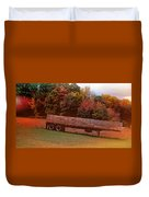 Pumpkins Mellow Duvet Cover