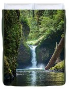 Punch Bowl Falls Duvet Cover