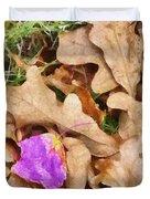 Punk Leaf Duvet Cover