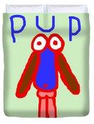 Pup Duvet Cover
