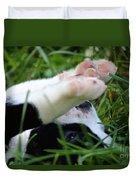 Puppy Prayers Duvet Cover