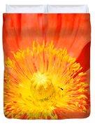 Pure Poppy Sunshine Duvet Cover