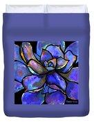 Purple Agave Duvet Cover