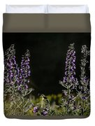 Purple Beauties Duvet Cover