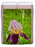 Purple Beauty Duvet Cover