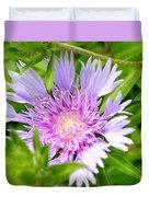 Purple Bloom Duvet Cover