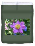 Purple Blossom 1 Duvet Cover