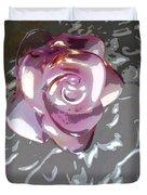 Purple Blossom Duvet Cover