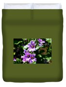 Purple Blossoms Duvet Cover