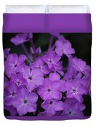 Purple Blossoms Duvet Cover