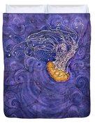 Purple Calm Duvet Cover