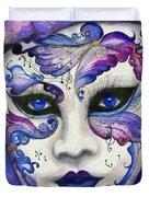 Purple Carnival Duvet Cover