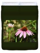 Purple Cone Flower Duvet Cover