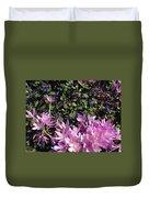 Purple Crocus Duvet Cover