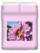 Purple Dahlia Flowers Pink Floral Art Prints Canvas Garden Baslee Troutman Duvet Cover