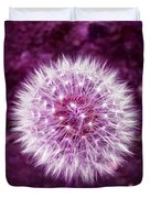 Purple Dandy Duvet Cover