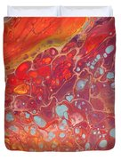 Purple Fire - 11 X 14 Canvas,$250 Duvet Cover