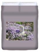 Purple Flocks  Duvet Cover