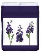 Purple Floral 2 Duvet Cover