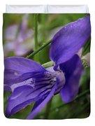 Purple Flower 2 Duvet Cover