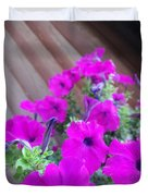 Purple Flowers 1 Duvet Cover