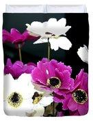 Purple Flowerspurple Flowers Duvet Cover