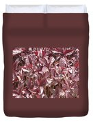 Purple Foliage Duvet Cover
