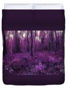 Purple Forest Duvet Cover