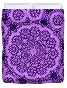 Purple Geek Kaleidoscope Five Duvet Cover