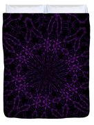 Purple Geek Kaleidoscope Four Duvet Cover